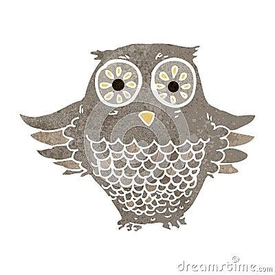 Retro owl cartoon - photo#27