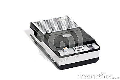 Retro Cassette recorder