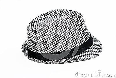 Retro Checkered Fedora Hat