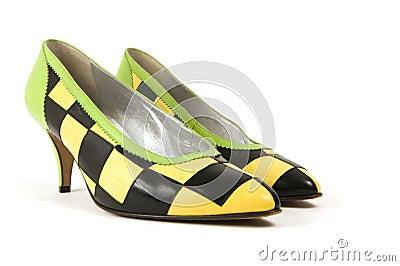 Retro Checkered Shoes