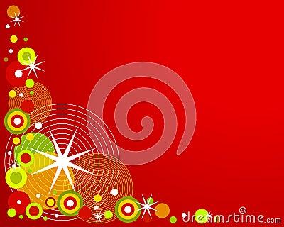 Retro Christmas Background 2