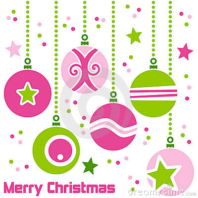 Free Retro Christmas Balls Stock Image - 17178921