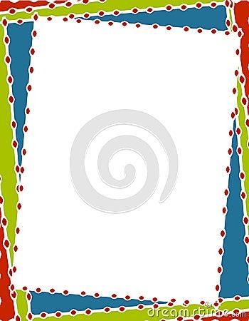 Free Retro Christmas Border Frame Stock Photography - 3567882