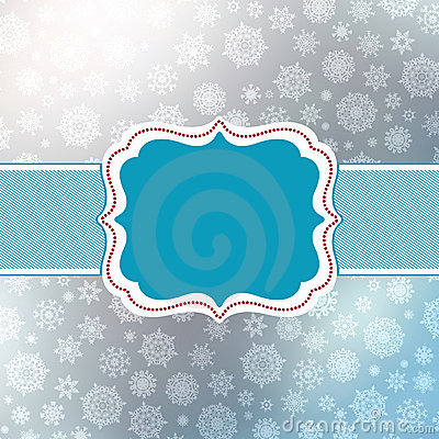 Retro Christmas Card Template. EPS 8