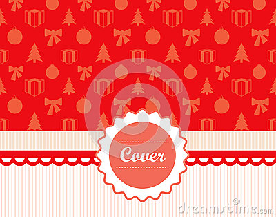 Retro Christmas cover