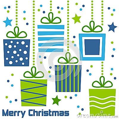 Free Retro Christmas Gifts Stock Photo - 17178940