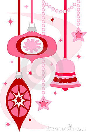 Free Retro Christmas Ornaments/eps Stock Photo - 15612180
