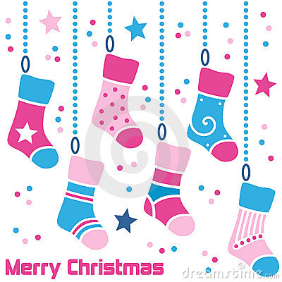 Retro Christmas Stockings