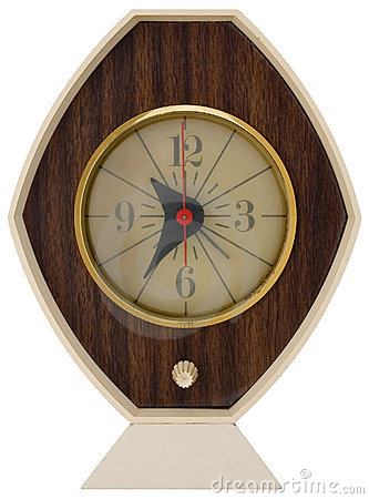 Retro clock 1