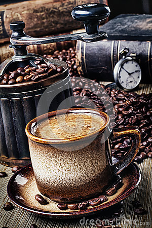 Free Retro Coffee Stock Photo - 37198510