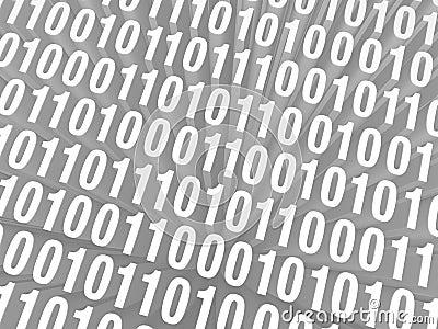 Retro Computer Code Background