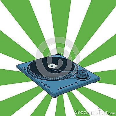 Retro deejay