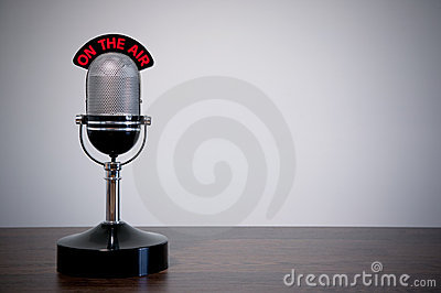 Retro Desk Microphone