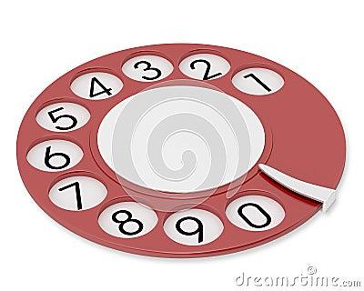 Retro dial