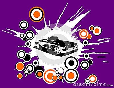 Retro Disco Car