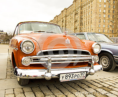 Retro Dodge Redactionele Fotografie