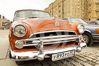 Retro Dodge Redaktionell Fotografering för Bildbyråer