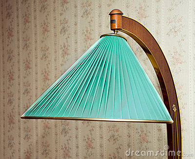 Retro electrical floor lamp