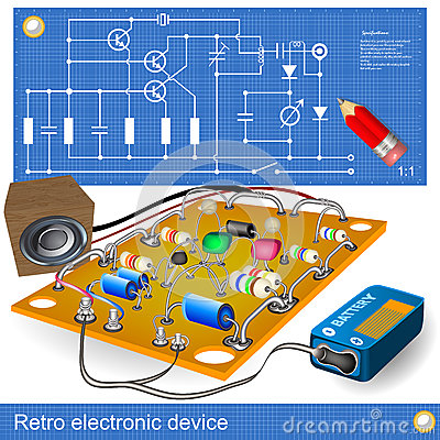 Retro electronic device