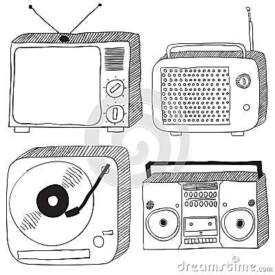 Retro electronics