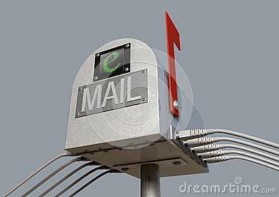 Retro Email Postbox