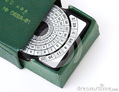Retro exposure meter