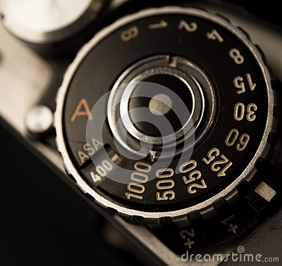 Retro film dial
