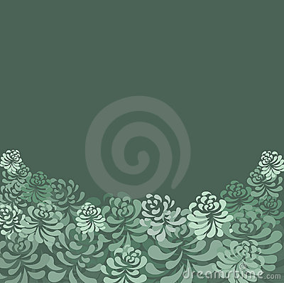 Retro floral pattern -vector illustration
