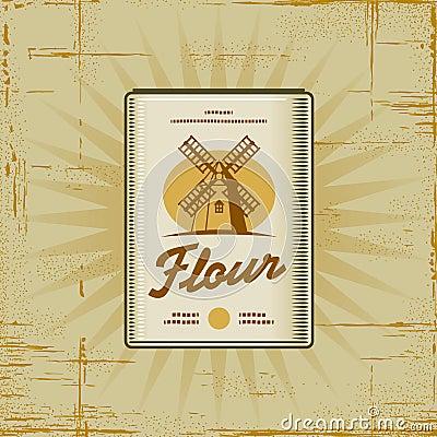 Retro Flour Pack