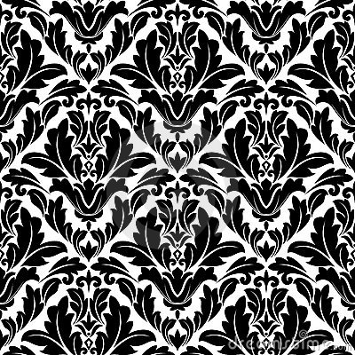 Retro flourish seamless pattern