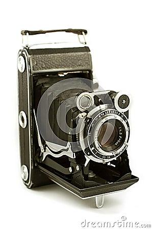 Free Retro Folding Camera Royalty Free Stock Photography - 200947