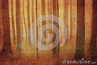 Retro forest