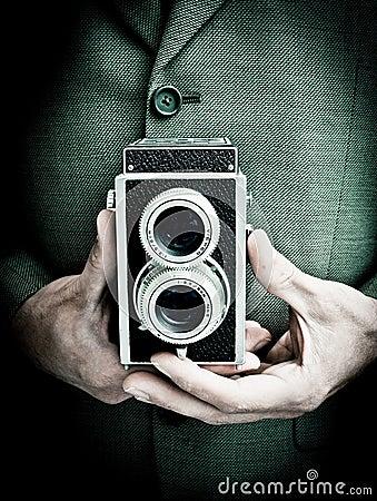 Retro fotograf