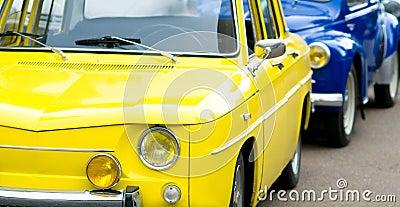 Retro french car