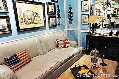 Retro furnitures Editorial Photography