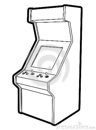 Retro game machine