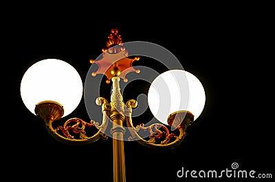 Retro garden lamp