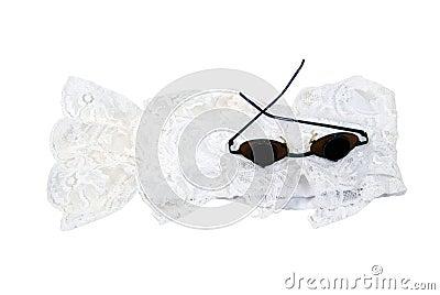 Retro Glasses and lace