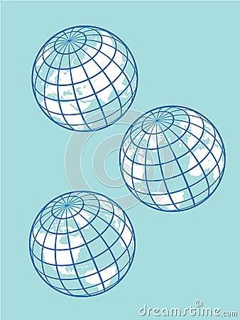 Retro Globes