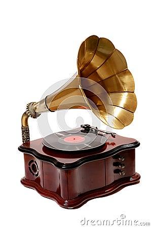 Free Retro Gramophone Royalty Free Stock Photo - 5999865