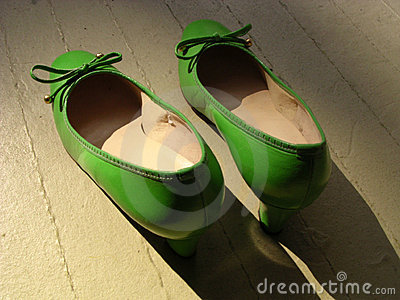 Retro Green Shoes