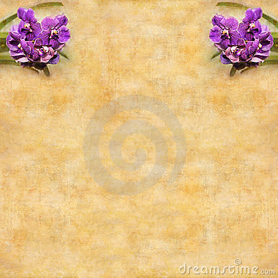 Retro greeting card