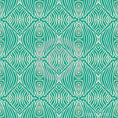 Retro grunge pattern, fifties textile design