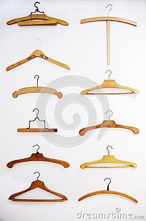 Retro hangers background