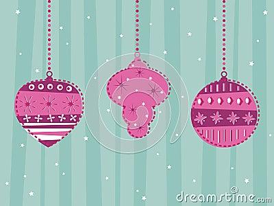 Retro hanging decorations