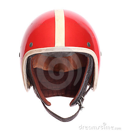 Retro helmet for jet pilots.