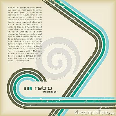 Retro- Hintergrund