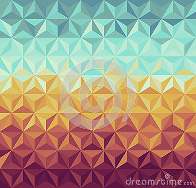 Free Retro Hipsters Geometric Pattern. Stock Images - 32996314