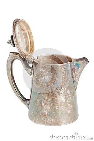Retro jug isolated