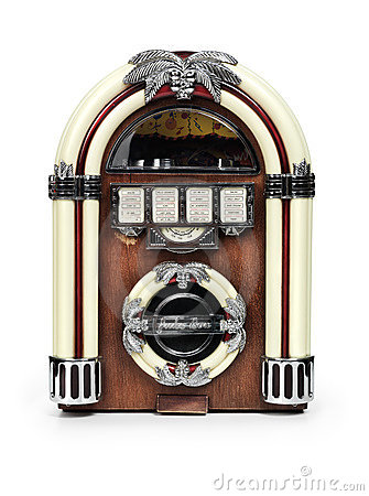 Free Retro Juke Box Radio Stock Images - 13921084